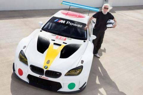 Art Car de BMW por John Baldessari, en fotos