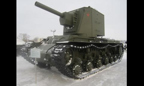 KV-2, el tanque que consiguió parar al ejército nazi