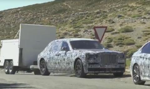 Rolls-Royce Phantom 2018: ¡cazado en vídeo!