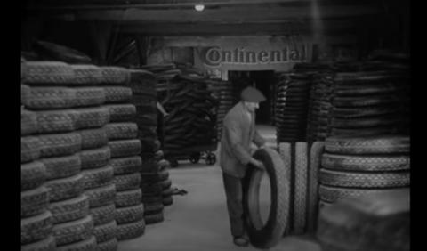 Así fabricaba Continental sus neumáticos en 1920