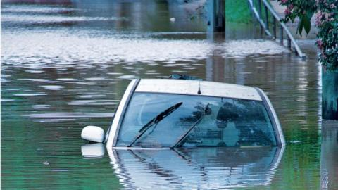 Las averías que sufre un coche tras una inundación