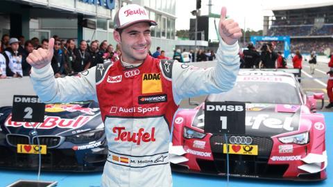 Miguel Molina no continuará en el DTM en 2017