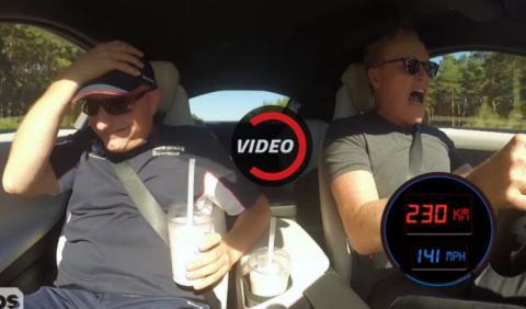 Conan O'Brien, ¡a 200 km/h en la Autobahn!