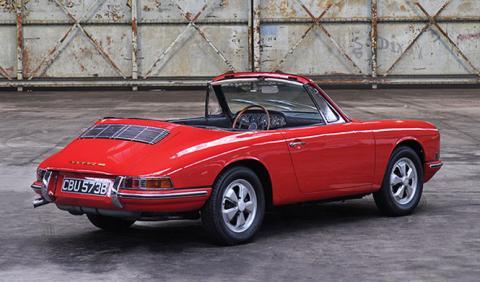 El primer prototipo del Porsche 911 Cabriolet busca casa
