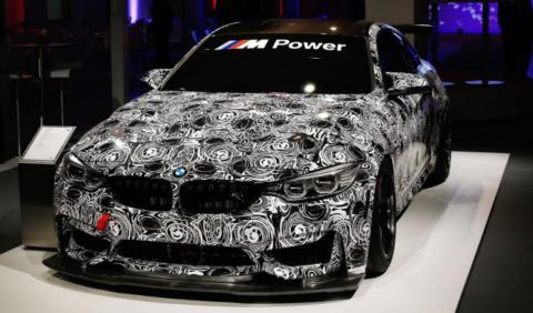 BMW M4 GT4: primera aparición pública
