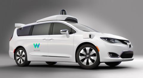 El coche de Google y Chrysler