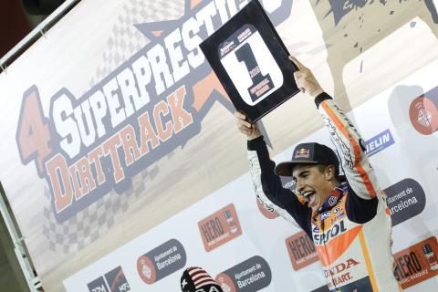 Superprestigio Dirt Track 2016: Márquez somete a Brad Baker