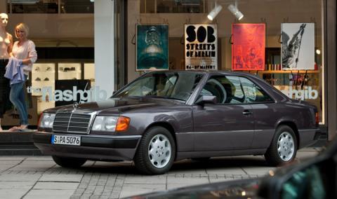 Coches míticos: Mercedes E Coupé