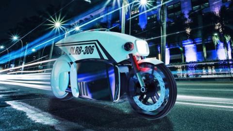 La moto autónoma que te multará en el futuro