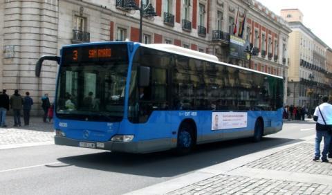 Autobuses con jardín en el techo para Madrid