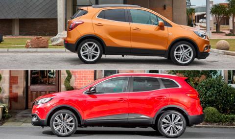 ¿Cuál es mejor, Opel Mokka X o Renault Kadjar?