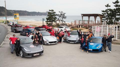Ferrari cierra el año con un impresionante desfile