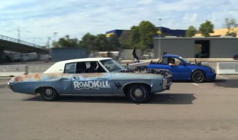 Vídeo: Mighty Car Mods y Roadkill, juntos en acción