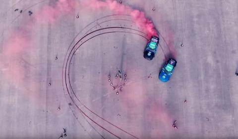 Vídeo: récord Guinness a la mayor marca de derrapes