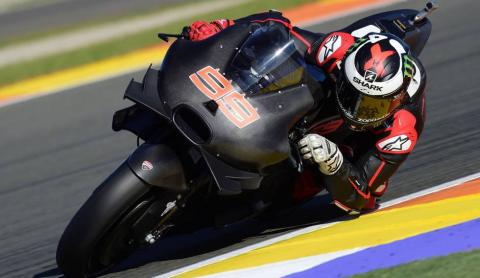 Jorge Lorenzo se vestirá de rojo Ducati el 20 de enero
