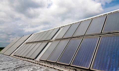 El techo solar más grande del mundo estará en...