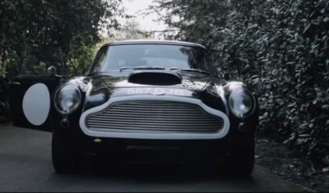 Así suena el Aston Martin DB4 GT Lightweight