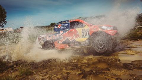 Dakar 2017. Coches, Etapa 1: Al Attiyah comienza liderando