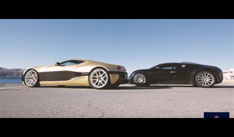 Vídeo: Bugatti Veyron vs Rimac Concept One