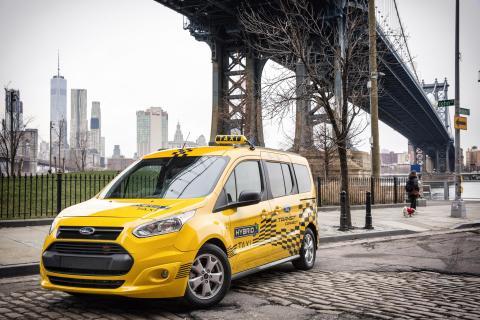 Ford Transit Hybrid 1