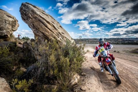 Dakar 2017, Motos. Etapa 7: Brabec estrena su casillero