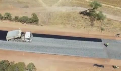Este vídeo de las obras de una carretera se hace viral