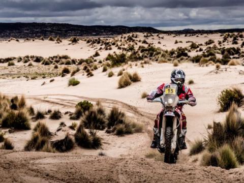 Dakar 2017, Motos. Etapa 10: Joan Barreda no se rinde