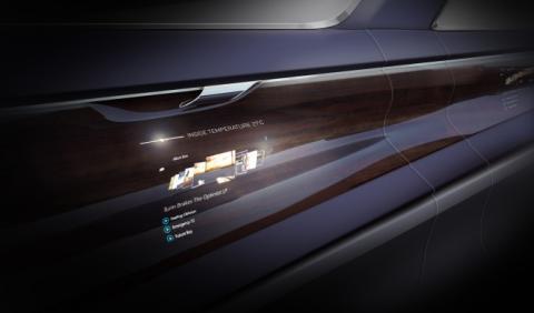 Bentley apostará por las pantallas OLED en sus interiores