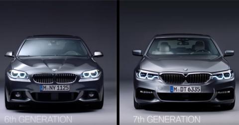 BMW Serie 5 F10 VS G30, ¿qué ha cambiado en diseño?