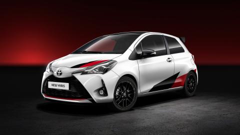 Abriendo boca: así será el Toyota Yaris más deportivo