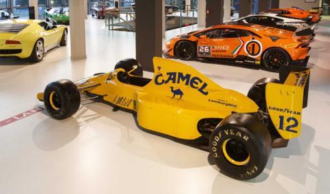 El jefe de Lamborghini sigue interesado en la Fórmula 1