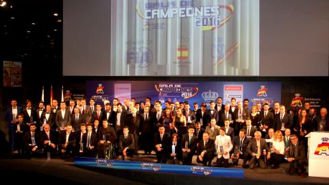La RFEdA estrena presidencia en su entrega anual de premios