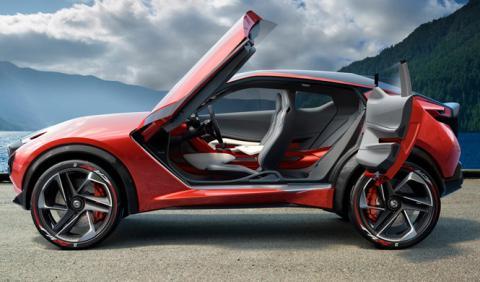 Nissan Juke e-Power Concept: será híbrido 'autorrecargable'