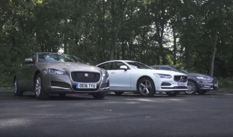 Vídeo: Ford Mondeo Vignale contra Volvo S90 y Jaguar XF