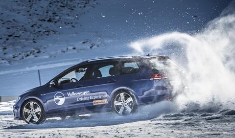 Escuela 4Motion de VW, una experiencia única sobre nieve