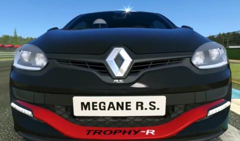 El Renault Megane RS 275 Trophy-R, en el Real Racing 3