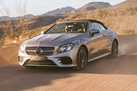 Prueba: Mercedes Clase E Cabriolet 2017