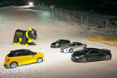 Prueba: 4 deportivos en la nieve