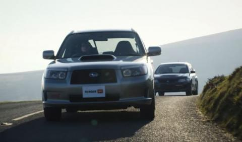 Vídeo: Subaru Forester STI contra Mitsubishi Lancer Evo