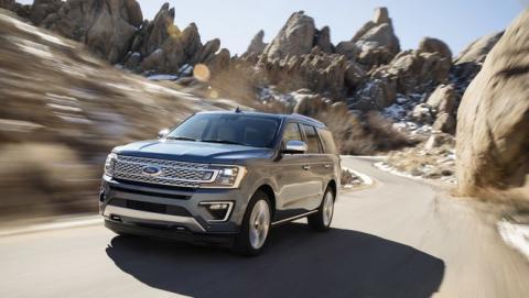 Ford Expedition 2018, con capacidad para 8 pasajeros