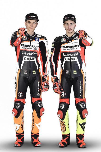 Lorenzo Baldasarri y Luca Marini