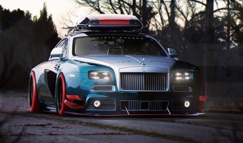 El Rolls-Royce Wraith modificado más salvaje que vas a ver
