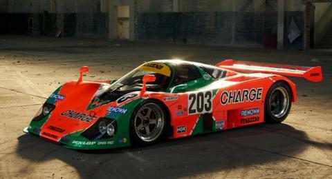 El Mazda 767B, ganador de Le Mans, puede ser tuyo
