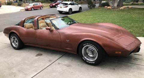 Por 61.000 euros tienes un Corvette de cuatro puertas
