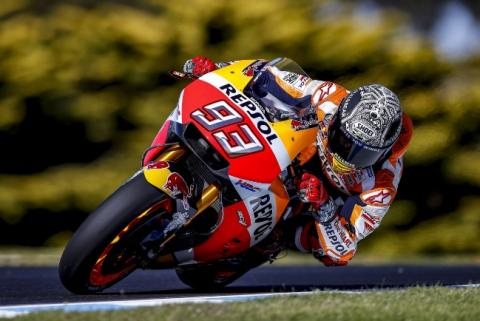 Ritmos Test MotoGP Australia 2017 (III): VIÑ y MAQ dominan
