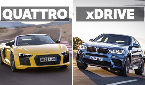 Audi quattro o BMW xDrive, ¿qué sistema es mejor?