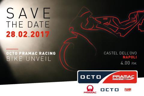 MotoGP 2017: El 28 de febrero se presenta el Pramac Racing