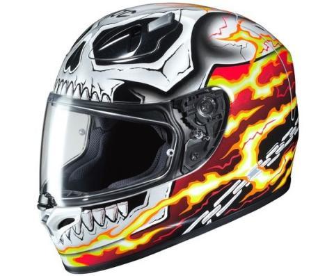 HJC FG-17 Ghost Rider: el motorista fantasma ya tiene casco