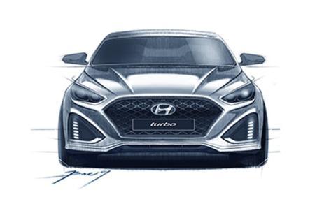 El Hyundai Sonata 2017 podría ser así
