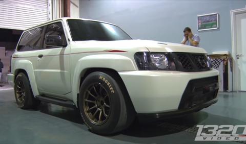 Vídeo: el Nissan Patrol ¡que humilló a un 918!